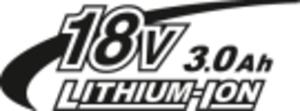 18V 3,0Ah Li-ion