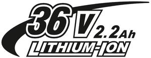 36V 2,2Ah Li-Ion