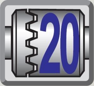 20 - stopniowa regulacja siły dokręcania