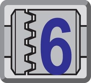 6 - stopniowa regulacja siły dokręcania