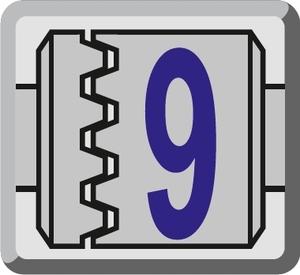 9 - stopniowa regulacja siły dokręcania